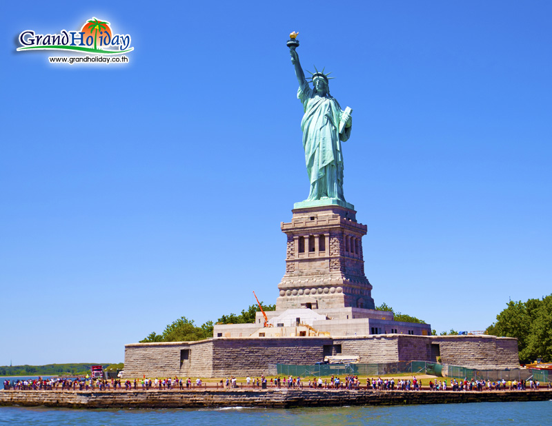 อนุสาวรีย์เทพีเสรีภาพ นิวยอร์ค ประเทศสหรัฐอเมริกา