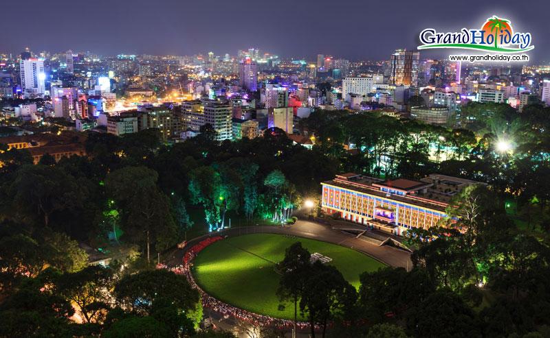 พาชมอดีตทำเนียบประธานาธิบดีแห่งเวียดนามใต้
