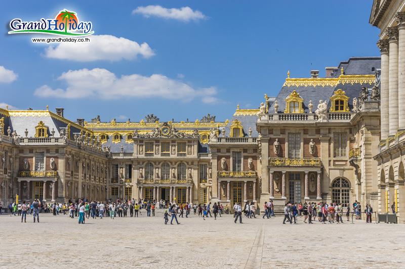 พระราชวังแวร์ซาย ประเทศฝรั่งเศส