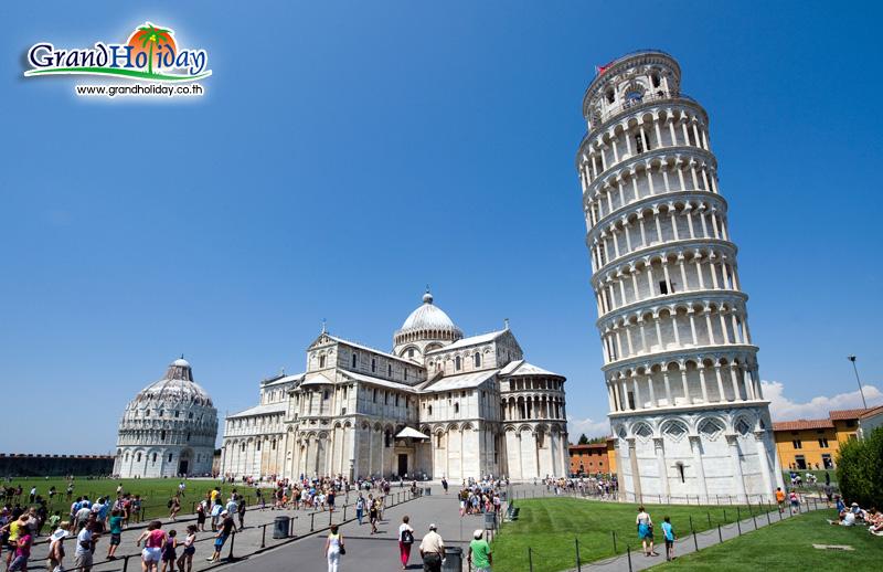 หอเอนปิซา ประเทศอิตาลี