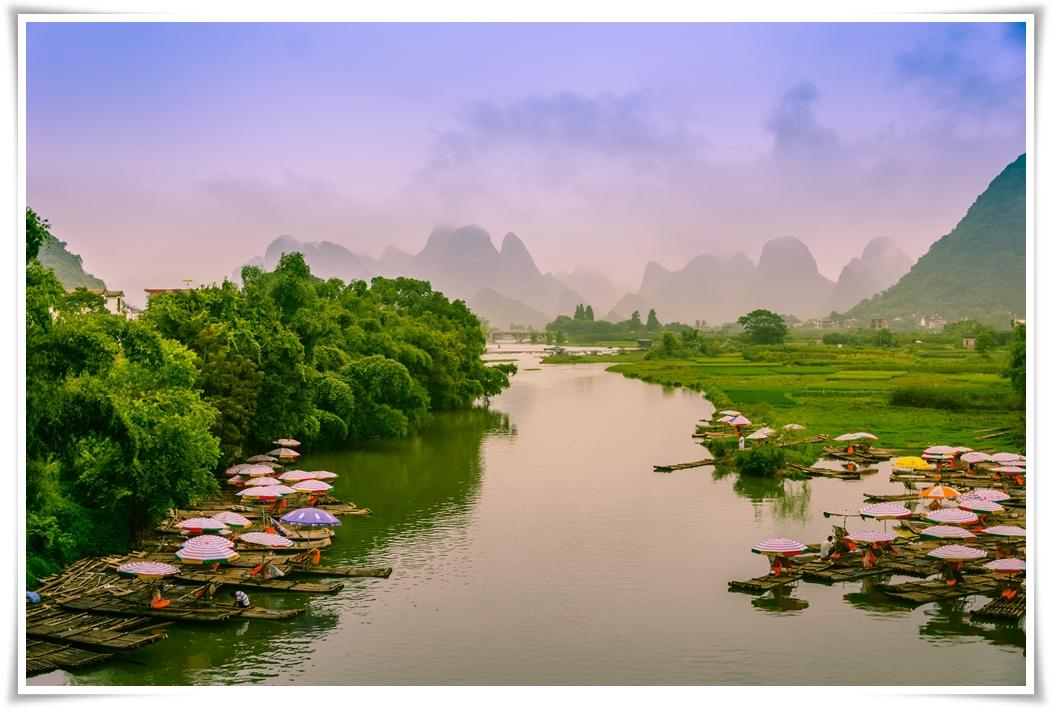 ทัวร์จีน กุ้ยหลิน หลงเซิ่นหยางซั่วโชว์ดรีมไลน์ 6 วัน 5 คืน (NOV-DEC17)