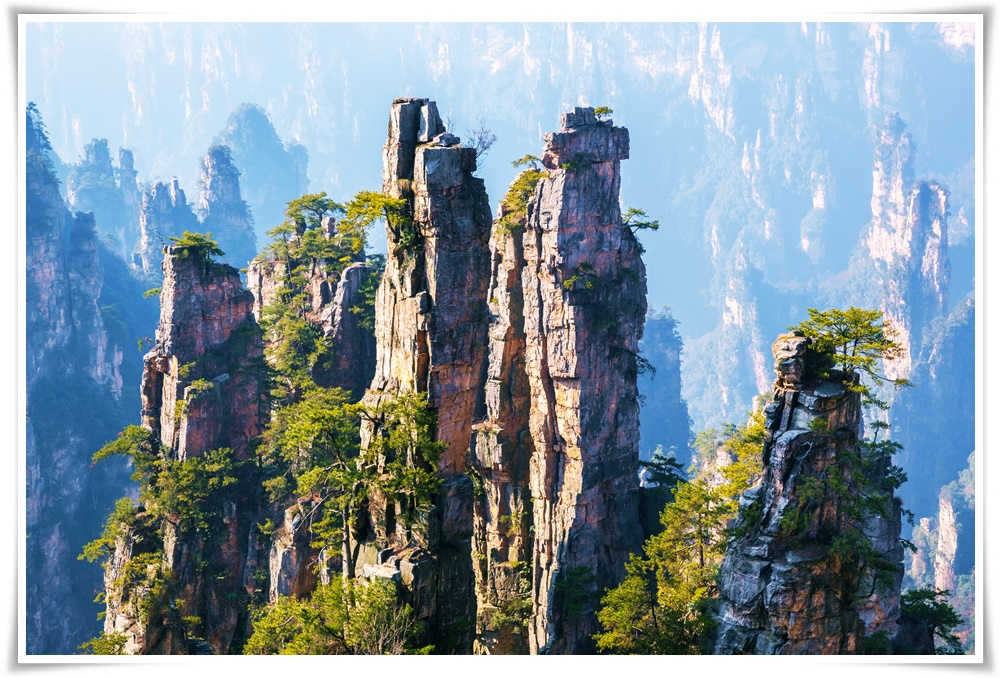 ทัวร์จีนELEGANT-OF-ZHANGJIAJIE(CSX06)(APR-OCT18)