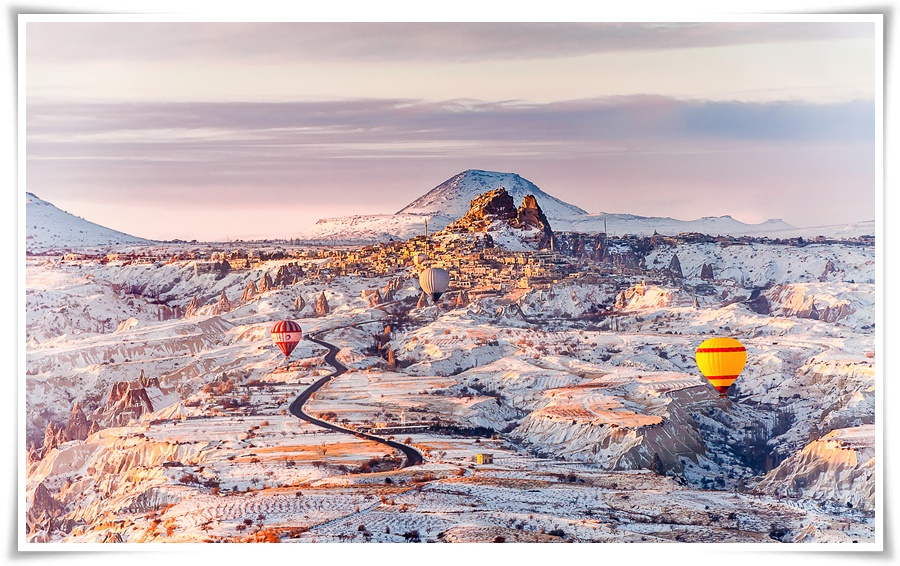 ทัวร์ตุรกี WINTER SKI TURKEY 8 วัน 5 คืน (NEW YEAR 18)