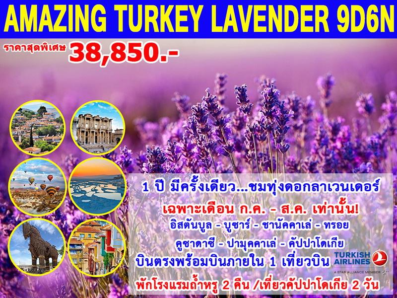 ทัวร์ตุรกี-AMAZING-TURKEY-LAVENDER-9D6N-(JUL-AUG19)(TK)
