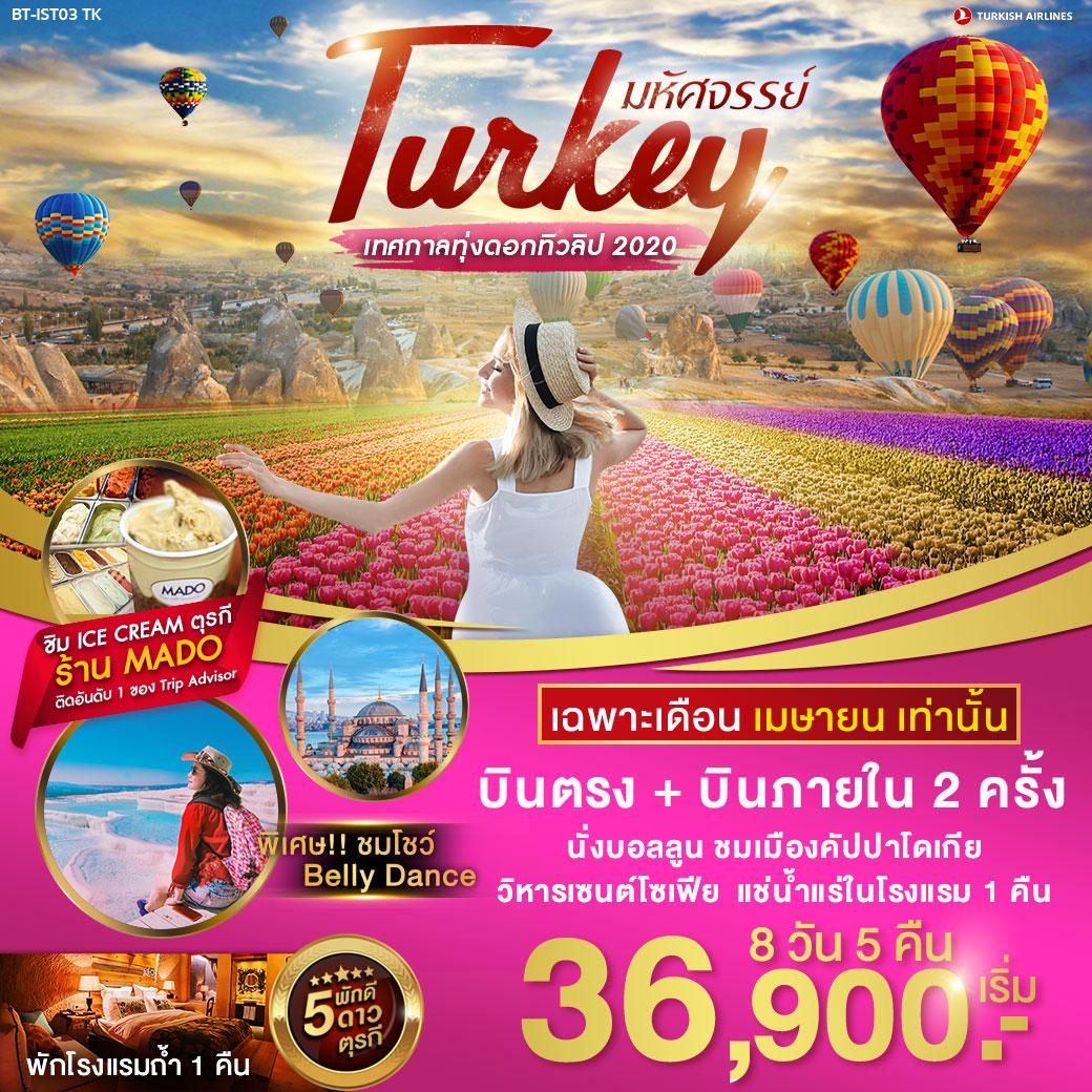 ทัวร์ตุรกี-มหัศจรรย์...ตุรกี-เทศกาลทุ่งดอกทิวลิป-8-วัน-5-คืน-(APR20)(BT-IST03_TK)