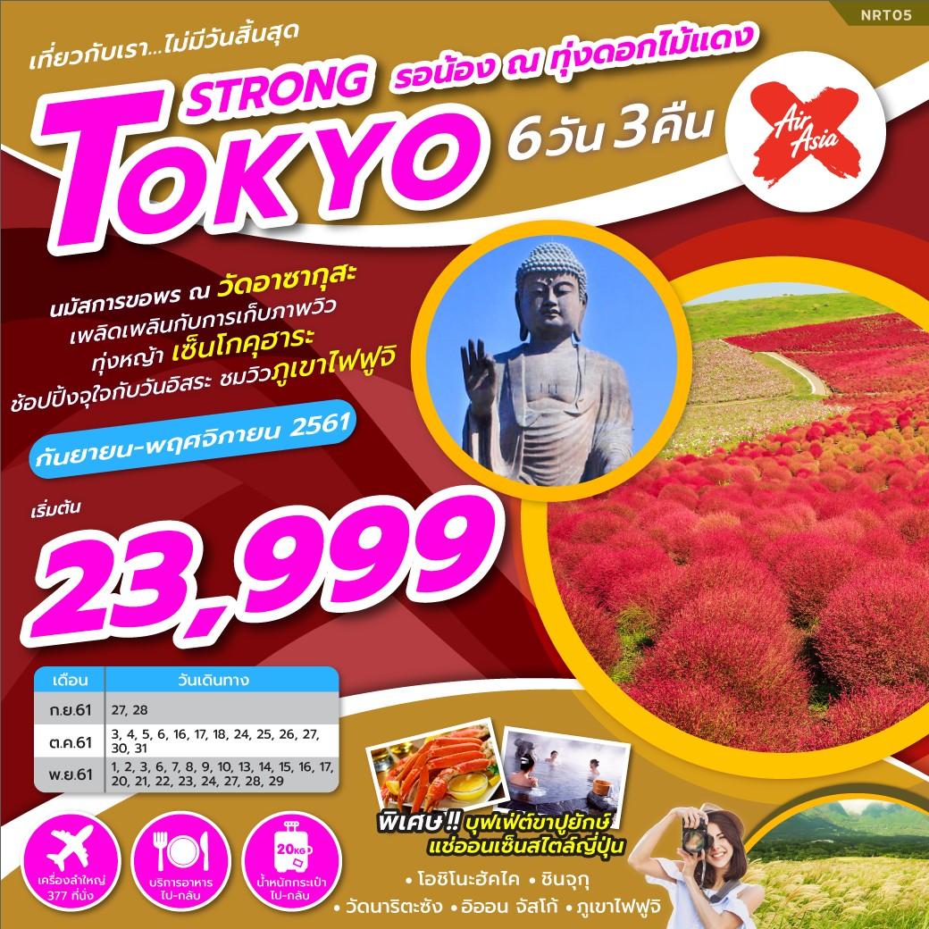 ทัวร์ญี่ปุ่น-TOKYO-STRONG-รอน้อง-ณ-ทุ่งดอกไม้แดง-6D3N-(OCT-NOV18)-NRT05