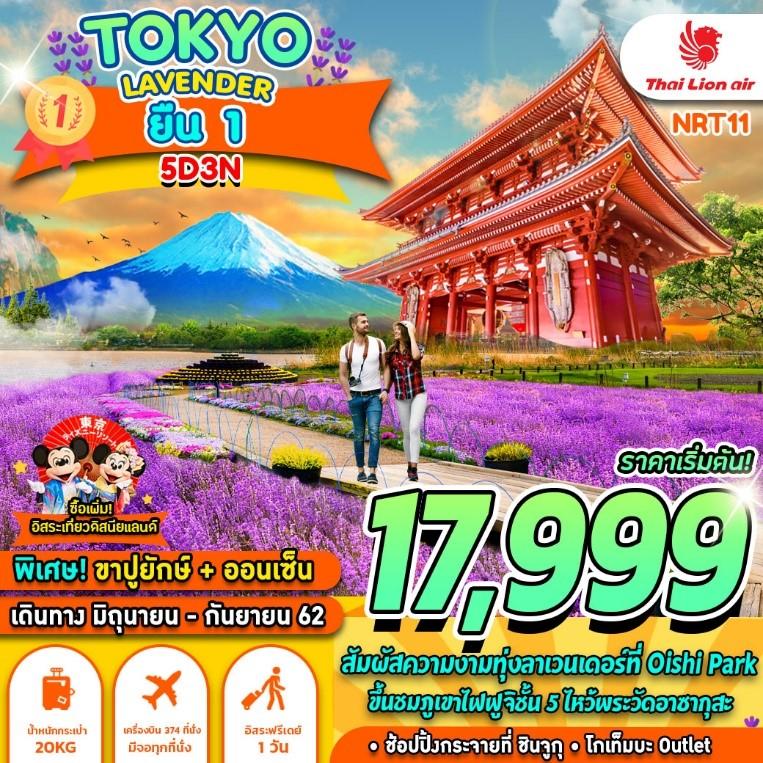 ทัวร์ญี่ปุ่น-TOKYO-FUJI-LAVENDER-5D3N-(JUN-SEP19)(NRT11)