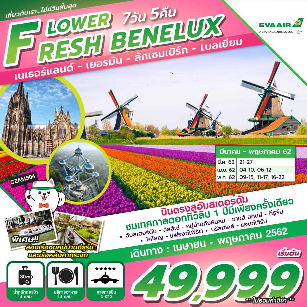 ทัวร์ยุโรป-FLOWER-FRESH-BENELUX-7D5N-(APR-MAY19)-CZAMS04